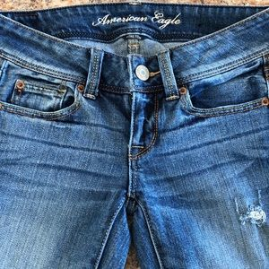 Americans Eagle slim boot jeans